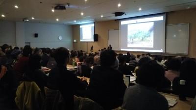 武蔵大学映像に釘付け